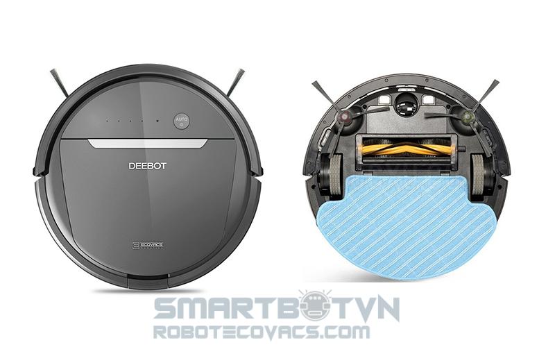 Robot hút bụi Deebot DD35 chạy xoay tròn - Kiểm tra lỗi DD35 tại nhà và sửa chữa