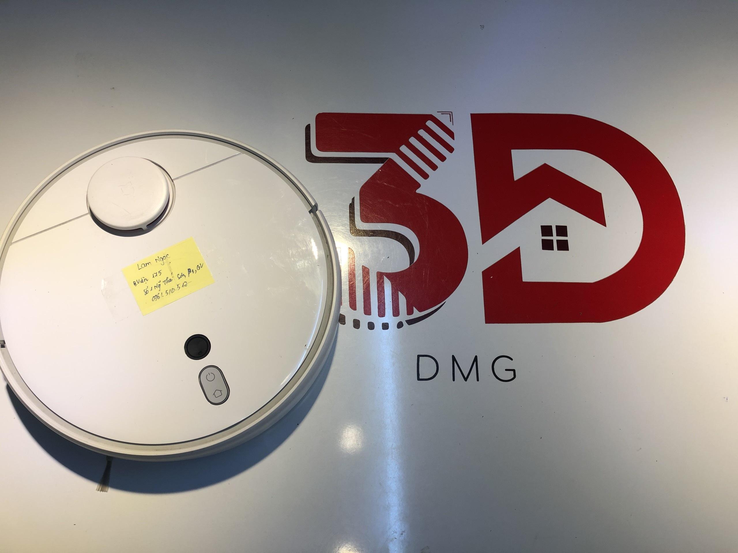 Sửa Robot Hút Bụi Xiaomi 1S Không Chạy & Cách Sửa 1 Số Lỗi Robot Xiaomi Tại Nhà Với Lab 3D House