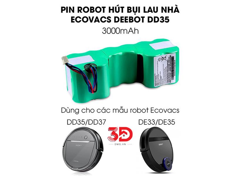 Pin Robot Hút Bụi Deebot DD35 Chính Hãng Ecovacs