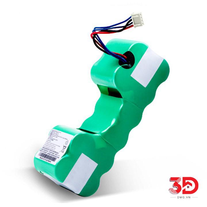 pin robot hút bụi deebot