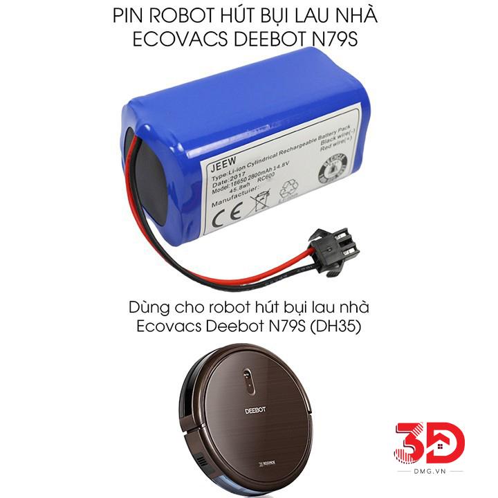 Pin Robot Hút Bụi Deebot DN79