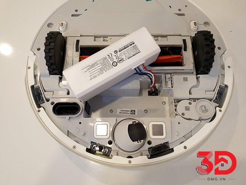 hướng dẫn thay pin robot xiaomi 1c