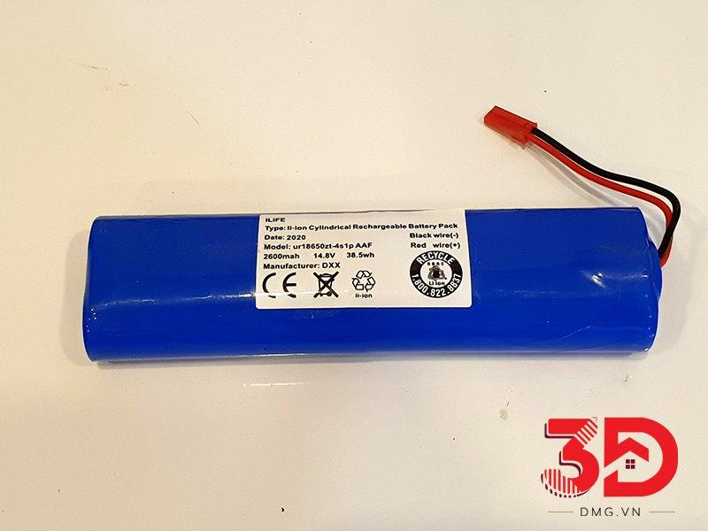 hướng dẫn thay pin robot hút bụi ilife x750